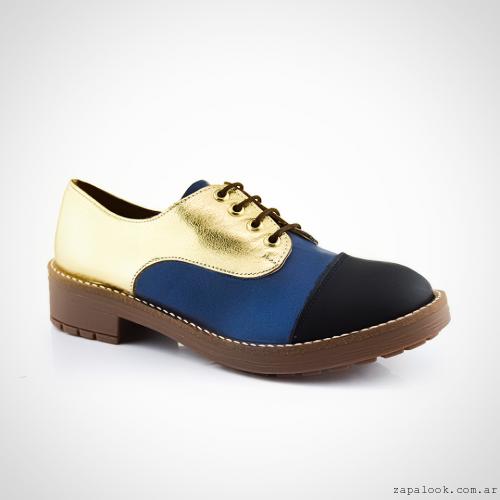 zapatos acordonados  invierno 2016 - La Leopolda