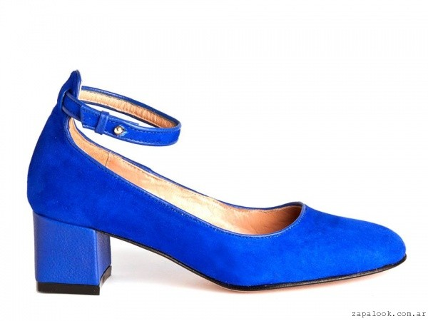 zapatos azules electricos invierno 2016 - Salman