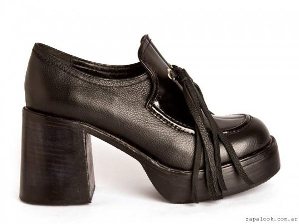 zapatos mocasines taco alto  invierno 2016 - Salman