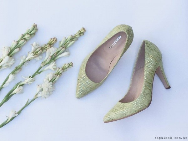 Stilettos dorados - calzados Mandarine