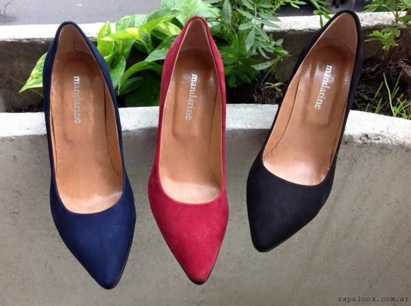 Stilettos otoño invierno 2016 - calzados Mandarine