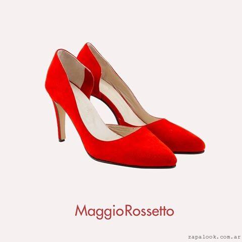 Stilettos rojos invierno 2016 Maggio Rossetto