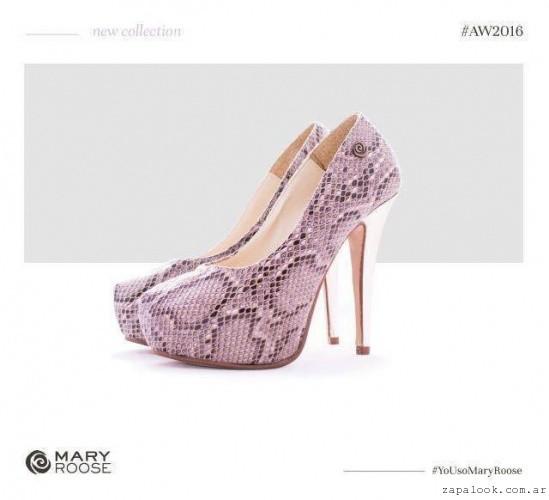 Zapatos taco fino  invierno 2016 - Mary Roose