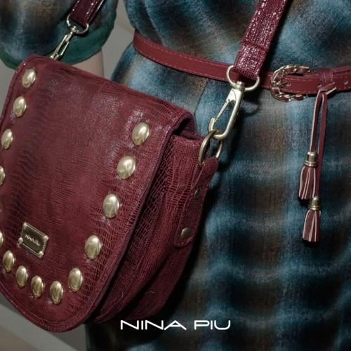 bandolera bordo con tachas invierno 2016 - Nina Piu
