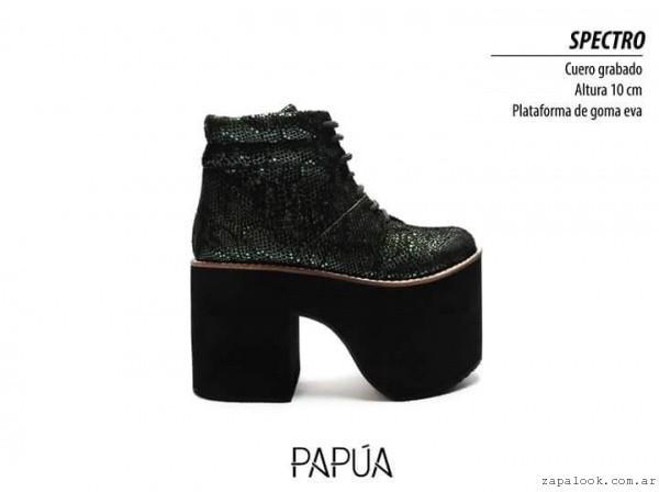 borcego con plataforma invierno 2016 - Papúa Zapatos