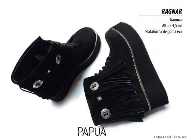 borcego gamuza invierno 2016 - Papúa Zapatos