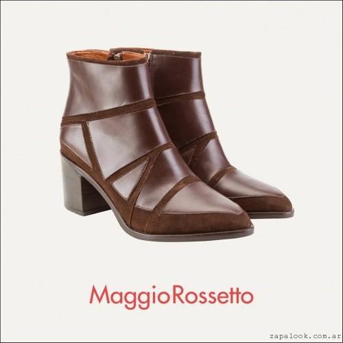botas marrones oscura invierno 2016 Maggio Rossetto