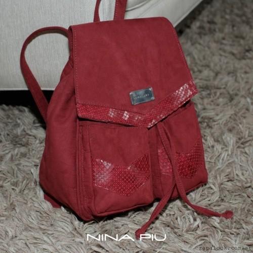 mochila bordo  invierno 2016 - Nina Piu