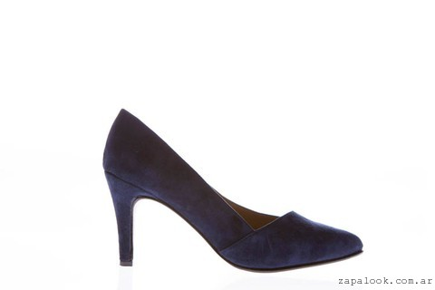 stilletos azules  invierno 2016 - Bnedikta