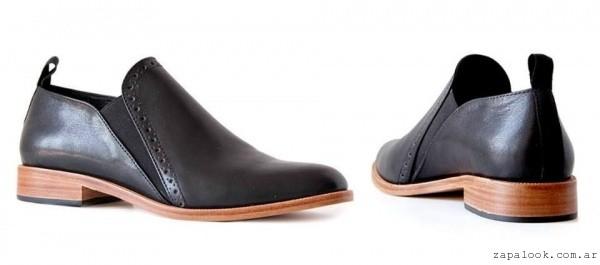 zapatos con elastico invierno 2016 - mana