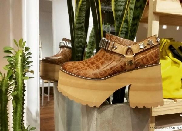 zapatos con plataformas otoño invierno 2016 - calzado juvenil Paradisea
