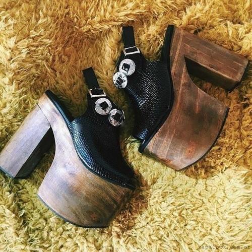 zapatos plataaformas de madera otoño invierno 2016 - calzado teenager Paradisea
