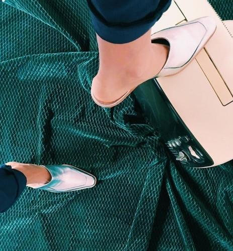 zapatos plateados  invierno 2016 - Jessica Kessel Shoes