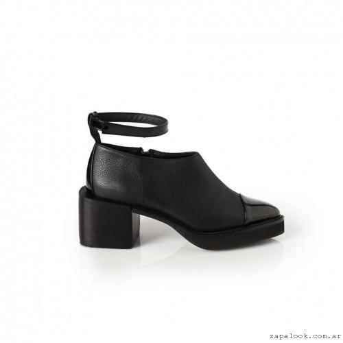 zapatos punta de charol  invierno 2016 -Chwala