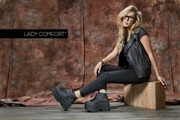 Lady Comfort - borcego negros invierno 2016