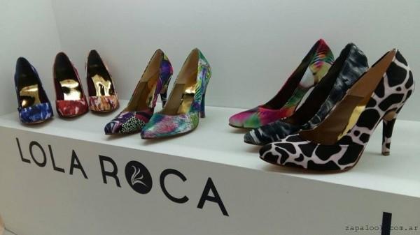 Stilettos estampados Lola Roca verano 2017
