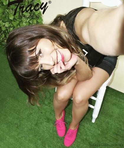 Tracy - zapatillas de lona fucsia primavera verano 2017