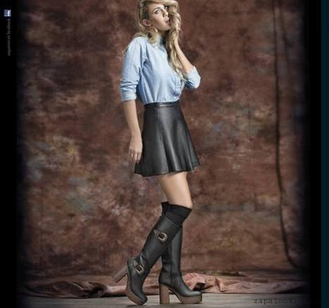 botas caña alta Lady Comfort invierno 2016