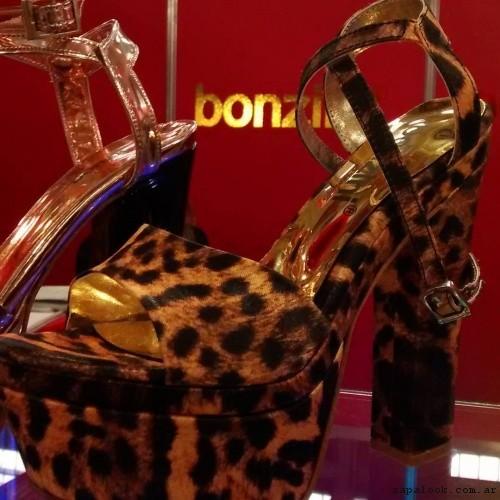 Sandalia animal print  verano 2017 Bonzini Shoes