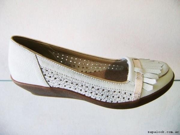 Zapato taco chino blanco primavera verano 2017 - Circle Urbano
