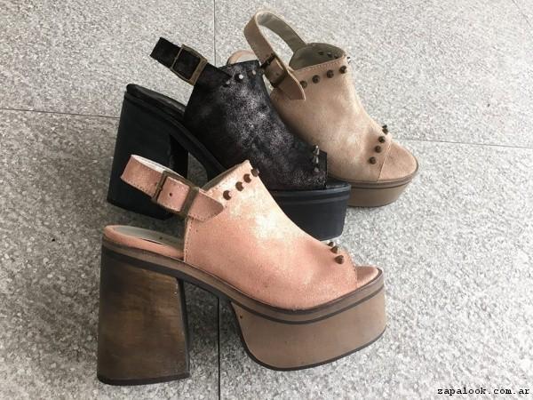 Zapatos con plataforma verano 2017 - PAMUK