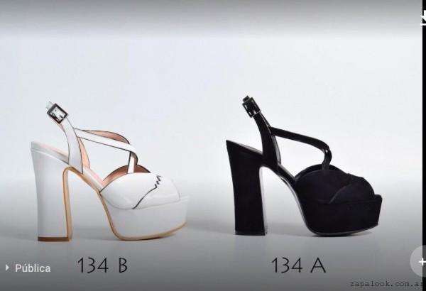Zapatos puntas abiertas verano 2017 - Micheluzzi