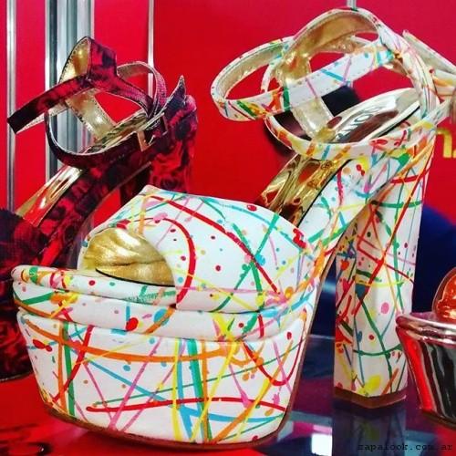 sandalia estampada  verano 2017 Bonzini Shoes