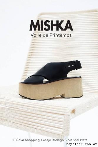 MISHKA -  sandalias con platforma primavera verano 2017