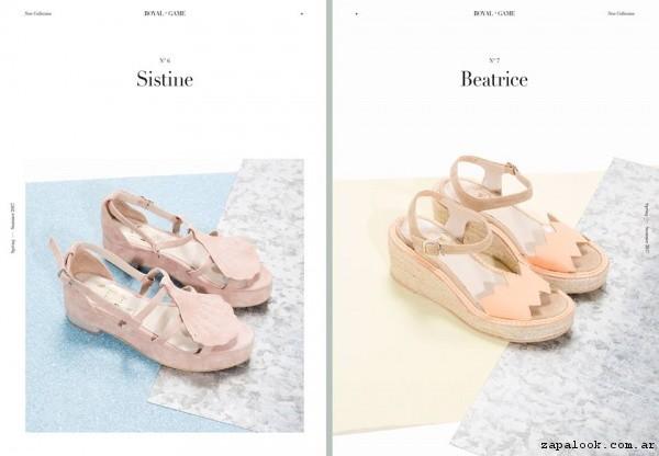 Sandalias en tonos pasteles primavera verano 2017 - LOOM