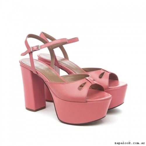 Sandalias rosadas verano 2017 - Paruolo