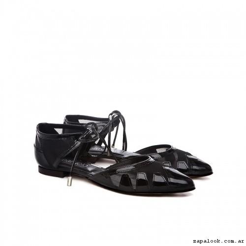 Zapatos planos con punta verano 2017 - Paruolo