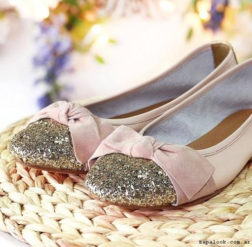 balerinas rosadas primavera  verano 2017 - Marignan