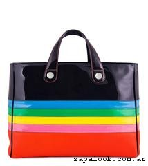 cartera arco iris  verano 2017 - Jackie Smith