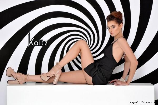 sandalias altas crema  primavera verano 2017 - kaitz