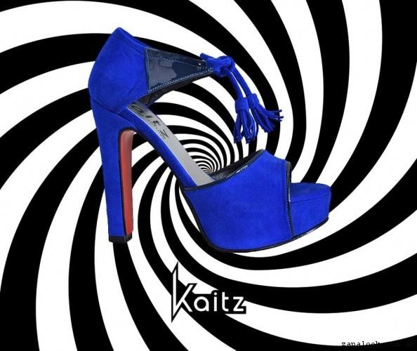 sandalias azules  primavera verano 2017 - kaitz