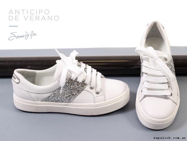 zapatillas blancas primavera verano 2017 - Saverio Di Ricci