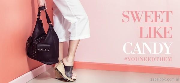 zuecos con base de yute verano 2017 calzados gravagna