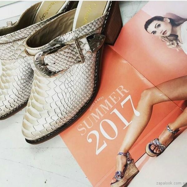 zuecos texanos verano 2017 calzados gravagna