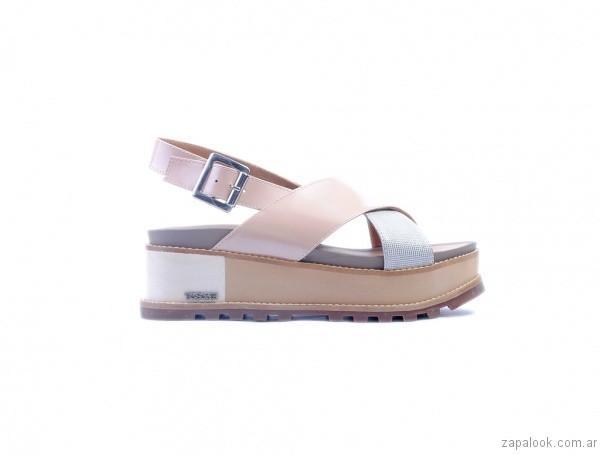 sandalia baja cruzada verano 2017 tosone