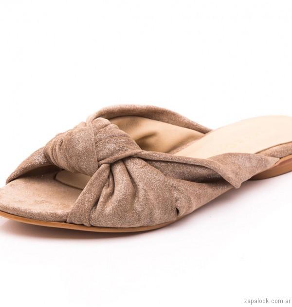 sandalia planas natacha verano 2017