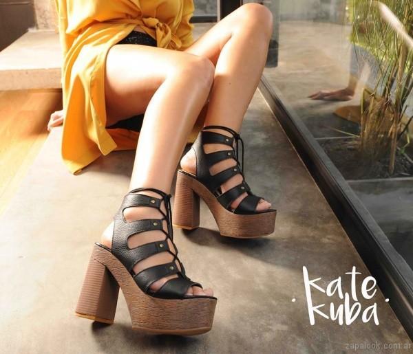 sandalias acordonadas primavera verano 2017 kate kuba