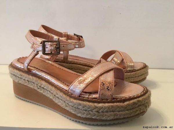 sandalias con base de yute verano 2017 - Alfonsina Fal