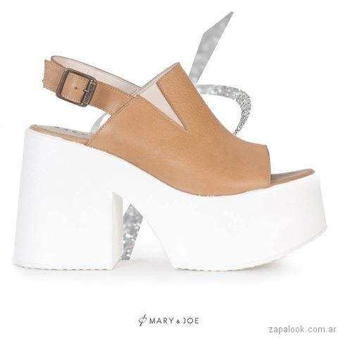 sandalias con superplataformas verano 2017 mary joe
