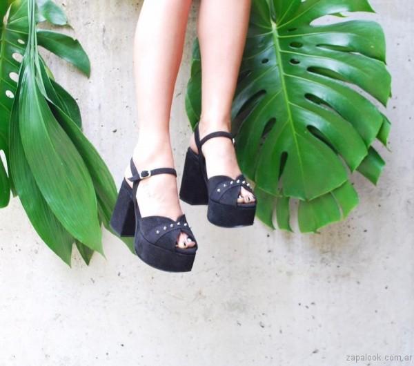 sandalias latas gamuza y tachas verano 2017 chao shoes