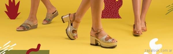sandalias metalizadas verano 2017 valerio calzados