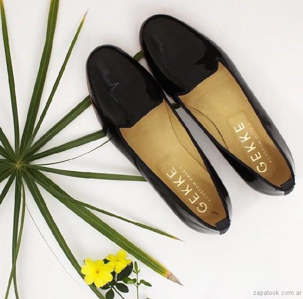 slippers negros primavera verano 2017 gekke