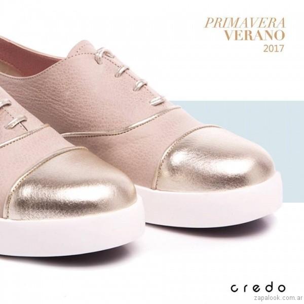 zapatillas metalizadas verano 2017 credo