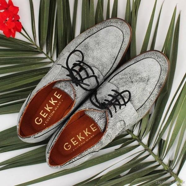 zapatos abotinados primavera verano 2017 gekke