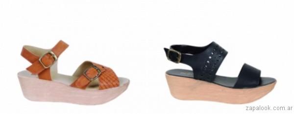 bases de madera sandalias 2017 berna