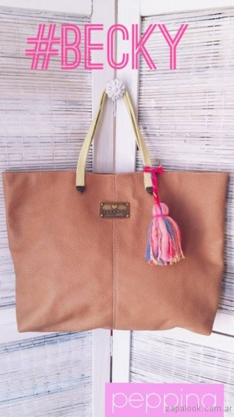bolso grande verano 2017 i love peppina